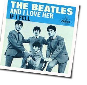The Beatles guitar chords for And i love her (Ver. 3)