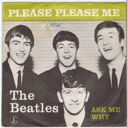 The Beatles guitar chords for Ask me why ukulele