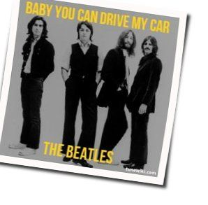 The Beatles guitar chords for Baby you can drive my car