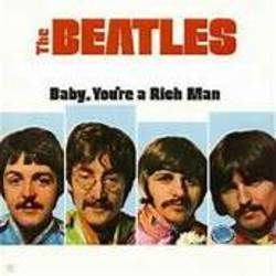 The Beatles guitar chords for Baby youre a rich man ukulele