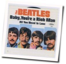 The Beatles guitar chords for Baby youre a rich man (Ver. 2)