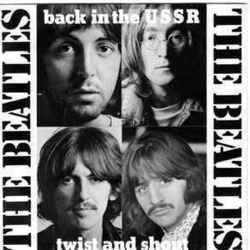 The Beatles guitar chords for Back in the ussr