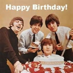 The Beatles guitar chords for Birthday