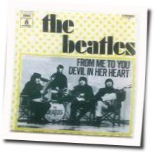 The Beatles guitar chords for Devil in her heart