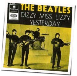 The Beatles guitar chords for Dizzy miss lizzie