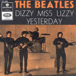The Beatles guitar chords for Dizzy miss lizzy