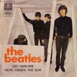 The Beatles guitar tabs for Here comes the sun