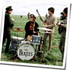 The Beatles bass tabs for Night before