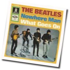 The Beatles bass tabs for Nowhere man