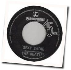 The Beatles guitar chords for Sexy sadie