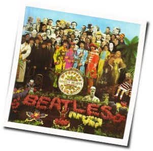 The Beatles guitar chords for Sgt peppers lonely hearts club band (Ver. 3)