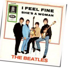 The Beatles guitar chords for Shes a woman