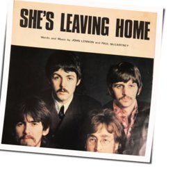 The Beatles guitar chords for Shes leaving home