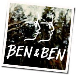 Ben&Ben guitar chords for God sent