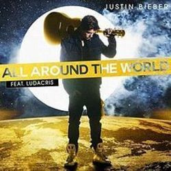 Justin Bieber guitar chords for All around the world (Ver. 2)