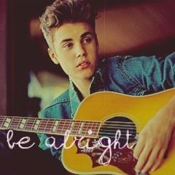 Justin Bieber guitar chords for Be alright