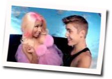 Justin Bieber chords for Beauty and a beat ft nicki minaj