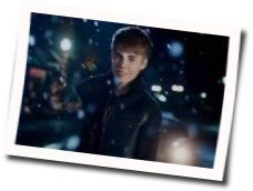 Justin Bieber guitar chords for Christmas eve