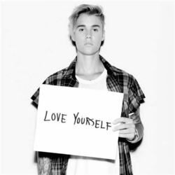 Justin Bieber guitar chords for Love yourself