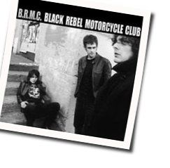 Black Rebel Motorcycle Club guitar chords for Tonights with you