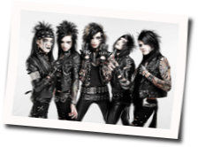 Black Veil Brides guitar chords for Fallen angels