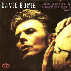 David Bowie guitar chords for Strangers when we meet