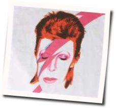 David Bowie tabs for Watch that man