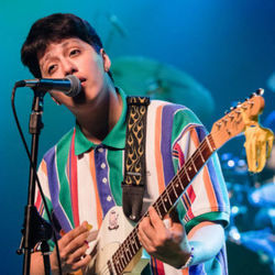 Boy Pablo guitar chords for Leave me alone