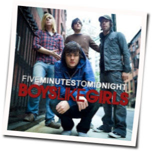 Boys Like Girls tabs for Five minutes to midnight