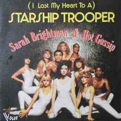 Sarah Brightman guitar tabs for I lost my heart to a starship trooper