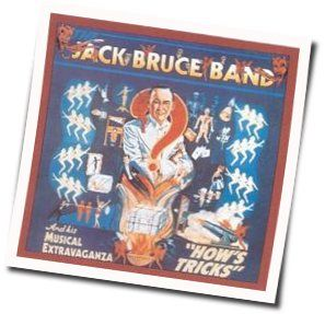 Jack Bruce guitar chords for Without a word