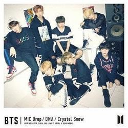 BTS tabs for Crystal snow