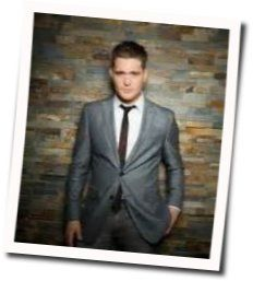 Michael Bublé guitar chords for A song for you