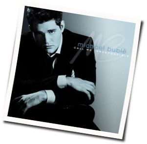 Michael Bublé guitar chords for Dont get around much anymore