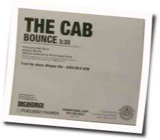 The Cab tabs and guitar chords