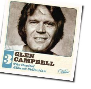 Glen Campbell chords for Just this one time