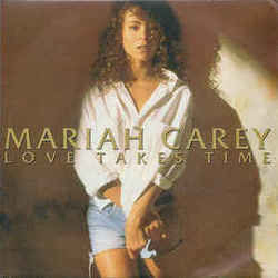 Mariah Carey chords for Love takes time