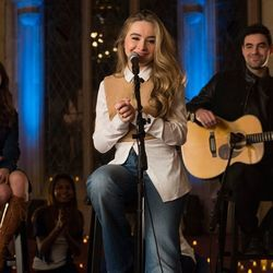 Sabrina Carpenter chords for A dream is a wish your heart makes so this is love