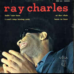 Ray Charles guitar chords for Hide nor hair