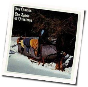 Ray Charles guitar chords for That spirit of christmas