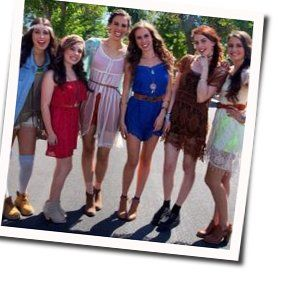 Cimorelli guitar chords for Your name is forever