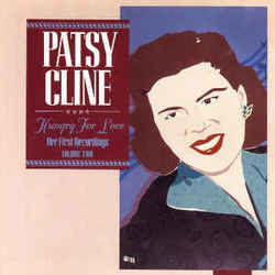 Patsy Cline guitar chords for Hungry for love