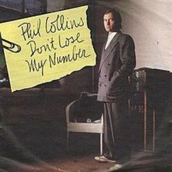Phil Collins Don't lose my number Bass tabs
