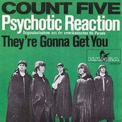 Count Five guitar tabs for Psychotic reaction