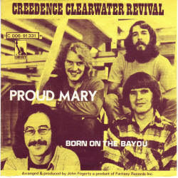 Creedence Clearwater Revival tabs for Born on the bayou