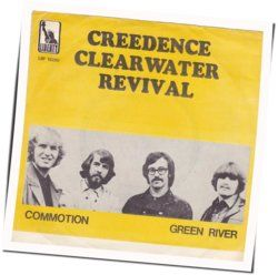 Creedence Clearwater Revival chords for Commotion