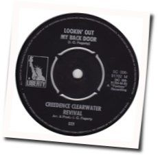 Creedence Clearwater Revival chords for Lookin out my back door