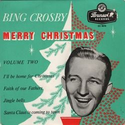 Bing Crosby chords for Ill be home for christmas