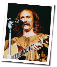 David Crosby guitar chords for Almost cut my hair