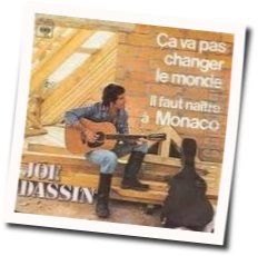 Joe Dassin tabs and guitar chords